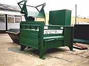 SP200 Static Waste Compactor with Bin Lift