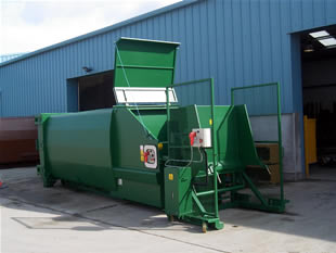 CR10B Compactor and Bin-Lift