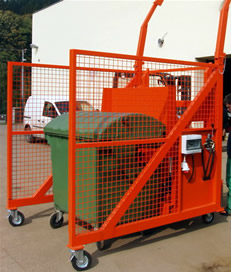 Independent Bin Lift System